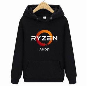PC CP CPU Uprocessor AMD RYZEN hoodies Men women2019 NEW 3D Polyester hoodie Sweatshirt Spring Autumn Male ladies bike hoodies