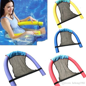 New Creative Adult Children Safety Buoyant Cloth Sleeve Floating Rod Aquatic Swimming Mesh Chair Net Pocket Easy To Use Hot Sale 5mj