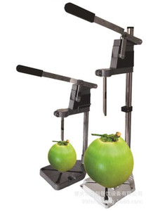 Manual green coconut opener hand press coconut opening machine