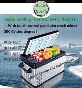 40L Car Refrigerator car freezer cooler AC DC12V24V Portable Mini Fridge Compressor Refrigerator Fridge For 4x4Camping