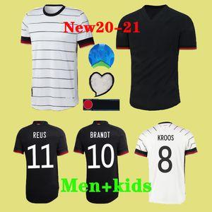2020 Germany Euro Soccer Jersey REUS Home kit HUMMELS KROOS MULLER GOTZE Football Shirt HAVERTZ Mens Jersey Kids kit
