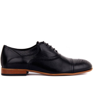 Парус-Lakers Черная кожа Мужская обувь