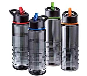 Cheap Plastic Tritan borraccia 800ml bottiglia d'acqua con flip Paglia, Bpa libero per la corsa d'escursione di campeggio
