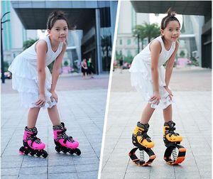 Hotsale-2 in 1 Skate und Känguru-Jump-Schuhe Fitness-Übung 20 ~ 70kg (44lb-154lb) Raum springen Schuhe springen und skate großhandel