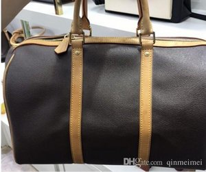 N41414 Keepal 45 centímetros 50 centímetros 55cml homens clássicos mulheres saco de viagem Viagem Bagagem Bag de alta qualidade Marca Duffle totes ombro de couro genuíno