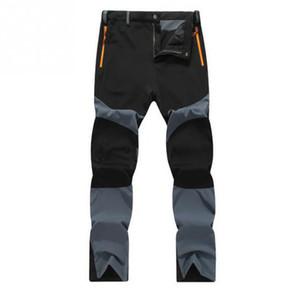 Fashion-Men Casual Imperméable Coupe-vent et respirant Utilisé à l'extérieur limting Pantalon Pantalon Cargo Tactical