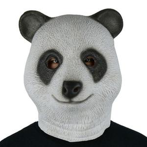 Haute animal mignon Simulation Avatar adulte Coiffures Masque Masque latex naturel Visage Sans odeur Masques Halloween Carnival mascarade visage