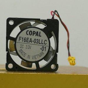COPAL1.6CM3-5V1605 أوراق معدنية مقاومة درجات الحرارة العالية مصغرة مصغرة ورقة مروحة F16EA-03LLC MM