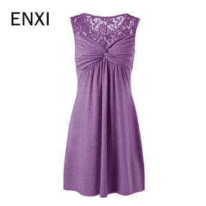 Enxi Summer Dresses Maternity Clothes For Pregnant Women Pregnancy Clothing Vestidos S-5xl Q190521