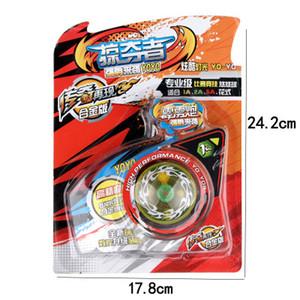 New Flashing Yoyo Bola Crianças Brinquedos Bola Orelhudo Truque de Corda Yo-Yo Bola Engraçado Yoyo Profissional Brinquedos Educativos Mordaça Presentes de Aniversário de Brinquedo