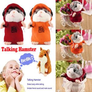 2019 Weihnachten Cheeky Hamster Reden Maus Pet Weihnachten Spielzeug Speak Tonaufzeichnung Hamster-Weihnachtsgeschenk-Plüsch-Tierspielzeug