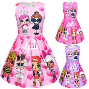 Футболка с короткой юбкой Набор Новый мультфильм для девочек с коротким рукавом Сценический костюм Вечернее платье Летняя детская одежда Детская верхняя одежда Верхняя одежда для девочек 8708