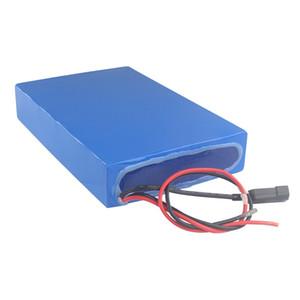 Frete grátis 5A Carregamento Rápido à prova d 'água bateria de lítio 72 v 30 ampères para scooter 1500 w / 2000 w / 3000 w motor + 50A BMS + 5A Carregador