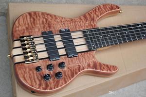 6 cordas para guitarra elétrica com captadores 2 preto, 24 trastes, folheado bege chama, hardware dourado, oferecendo personali