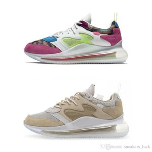 Nuevo OBJ Air Cushion Young King of The Drip Desert Ore Multi Color Hyper Pink Rose 720s Betrue Shoes 72c Hombres Mujeres Zapatillas de deporte
