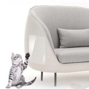 Gato Rascarse guardia Guardia 2pcs Couch mascotas Rascar gato protector de la garra Guardia estera del gato Rascador Muebles Sofá garra protector LXL806-1