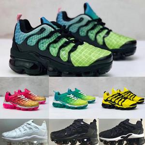 Nike Air Max TN Plus kids running shoes 2020 الشقي أون بس العمر تينيسي respirant 2.0 قوس قزح شبكة الجري منظمة أطفال وسادة حذاء رياضة TNS الهواء تصب منظمة أطفال سلال