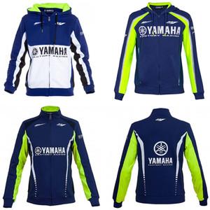 2019 neue Herren-Motorrad-Hoodie Renn moto Kapuze Kleidungsjacke Männer Jacke Cross Zip Trikot Sweatshirts M1 yamaha windundurchlässiges Mantel Reiten