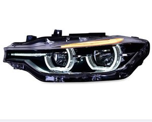 Car styling For BMW 3 series F30 F35 Headlights 2013-2015 Double Beam Lens Projector All LED Headlamps Led DRL turn light