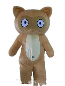 2019 usine de vente au rabais d'un costume de mascotte brun taupe asdlut pour adulte à porter