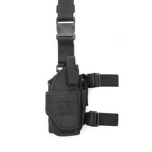 Ayarlanabilir Bacak Kılıfı Taktik Bırak Bacak Çanta Airsoft Kılıf Sağ Bacak Handgun Kılıf Gun Tutucu Tabanca Sağlak
