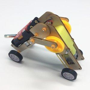 Robot science et de la technologie étudiant à petite échelle Création bricolage scientifique Équipement de laboratoire Popular Science Enseignement Instrumen