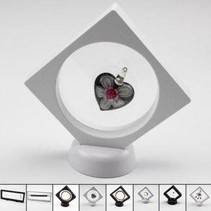 Quadro flutuante Sombra Box Jade Jóias exibição Proteção hipóxia Set