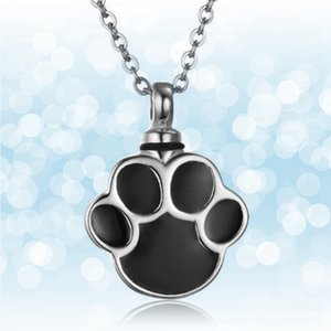 Charming Pet Ash Holder Necklace Mini Urn Cremation Memorial Pendant Necklace For Women Men Jewelry Accessories