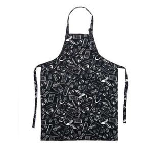 Padrão ajustável Chef Aventais Garçom Kitchen Cook Avental Bib Vestido para Restaurante Baking Womens Mens 4 estilos