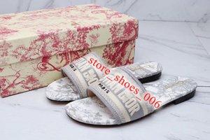 Christian Dior slippers 2020 xshfbcl stilista scarpe da donna di marca Slides sandali sandali della signora per i sandali donne lettera classica del progettista scarpe donna da