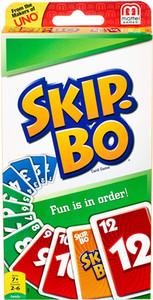 Uno Skip Bo Juegos de cartas Nueva Edición Juego de mesa 2-10 jugadores Encuentro Game Party Diversión Entretenimiento Skipbo