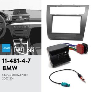 UGAR 11-481 Kit fascia / cadre fascia + harnais ISO + adaptateur d'antenne pour BMW série 1 (E81, 82, 87, 88) 2007-2011
