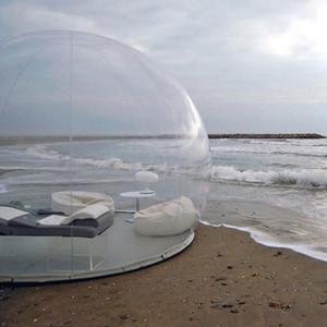 Bolha preço de fábrica inflável Tree3M / 4M / 5M Dia bolha Hotel / bolha Tent Transparente Tent Igloo Para Camping Outdoor