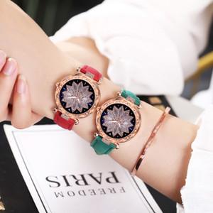 Mulheres Areia da correia do relógio enchido diamante senhoras coringa de pulso Relógios magnética pulseira relógio Relógio 11,21