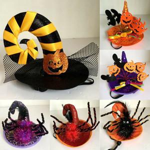 الحيوانات الأليفة هالوين ازياء العنكبوت هات-الكلب القطة الساحرة قبعة معالج للأطراف هالوين