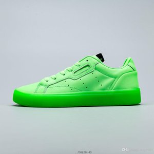 2020 neue Luxus-Designer-Damen beiläufiger Sport weißen Schuhe Brettschuhe klassische Atmosphäre komfortable Füße Größe 36-40