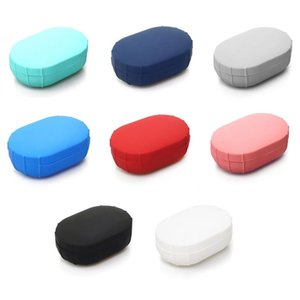 Silicone Case Cover For Xiaomi MI Redmi AirDots Youth Version Wireless Bluetooth Earphone TWS Charging Case Soft TPU Shell Funda