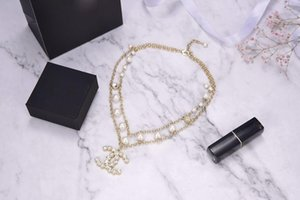 Fashion pearl necklace designer women necklace rings luxury earrings love bracelet mens 14k gold chains cuban link chain 2020 new