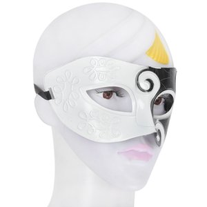 Black&White Roman Greek Mens Venetian Halloween Costume Party Masquerade Mask Party Masks