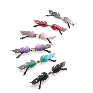 Designer Sonnenbrille Flamme Sonnenbrille Mann Frauen Strand Goggle Gläser UV400 6 Farben Ausgezeichnete Qualität