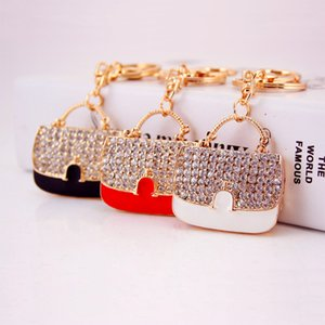 Small gifts creative cute exquisite Hand bag bag key chain car pendant bag buckle 892