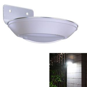 Capteur de mouvement radar à micro-ondes 260LM LED lumière solaire étanche 16leds Lampe de rue piste extérieure lampe murale de sécurité Spot Light