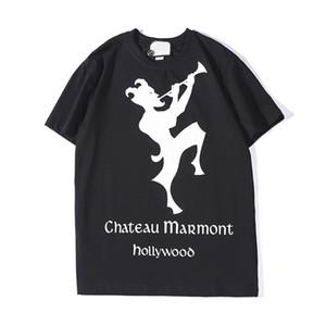 Mens Designer T Camisas Moda Mens Vestuário 2019 New Arrival Casual Streetwear T Shirt Da Marca Dos Homens do Mensageiro Tops de Manga Curta