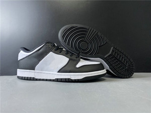 New Exclusive Low Skateboard Shoes Black White Fashion Chaussures Trainers Good Quality Ship With Box Size36-46