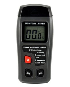 Portable Digital Wood Moisture Meter LCD 0-99.9% Humidity Monitor