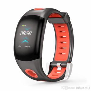 DM11 3D UI Dynamic Smart montres fréquence cardiaque Smartband Fitness Tracker Bracelet moniteur de fréquence cardiaque Wristband IP68 10pcs / lot