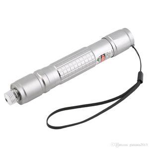 Yeni Varış Profesyonel Su Geçirmez Yeşil Işık Lazer Pointer Kalem Gümüş Siyah Vücut Lazer SD 303 Lazer Görünür En Iyi Işın toptan
