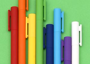 Xiaomi Youpin 8pcs / caixa de caneta gel Kaco K1 com preto 0,5 caneta neutro cores coloridas recarga preto suavizar escrita
