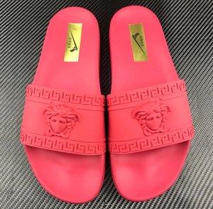 Gli uomini di appartamenti di estate pantofola Beachfront Home classico di spessore resistente marchio di moda bagno antiscivolo bagno pantofole morbide di grandi dimensioni