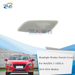 ZUK la linterna del coche junta para la boquilla cubierta para el Mazda 3 M3 Axela 2014 2015 2016 Faro Chorro de agua disperso Cap BKC6-51-8H1 BKC6-51-8G1